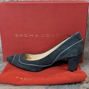 Sacha London Gray Pumps